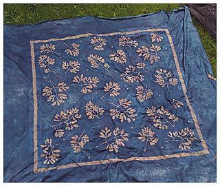 Blue-cloth